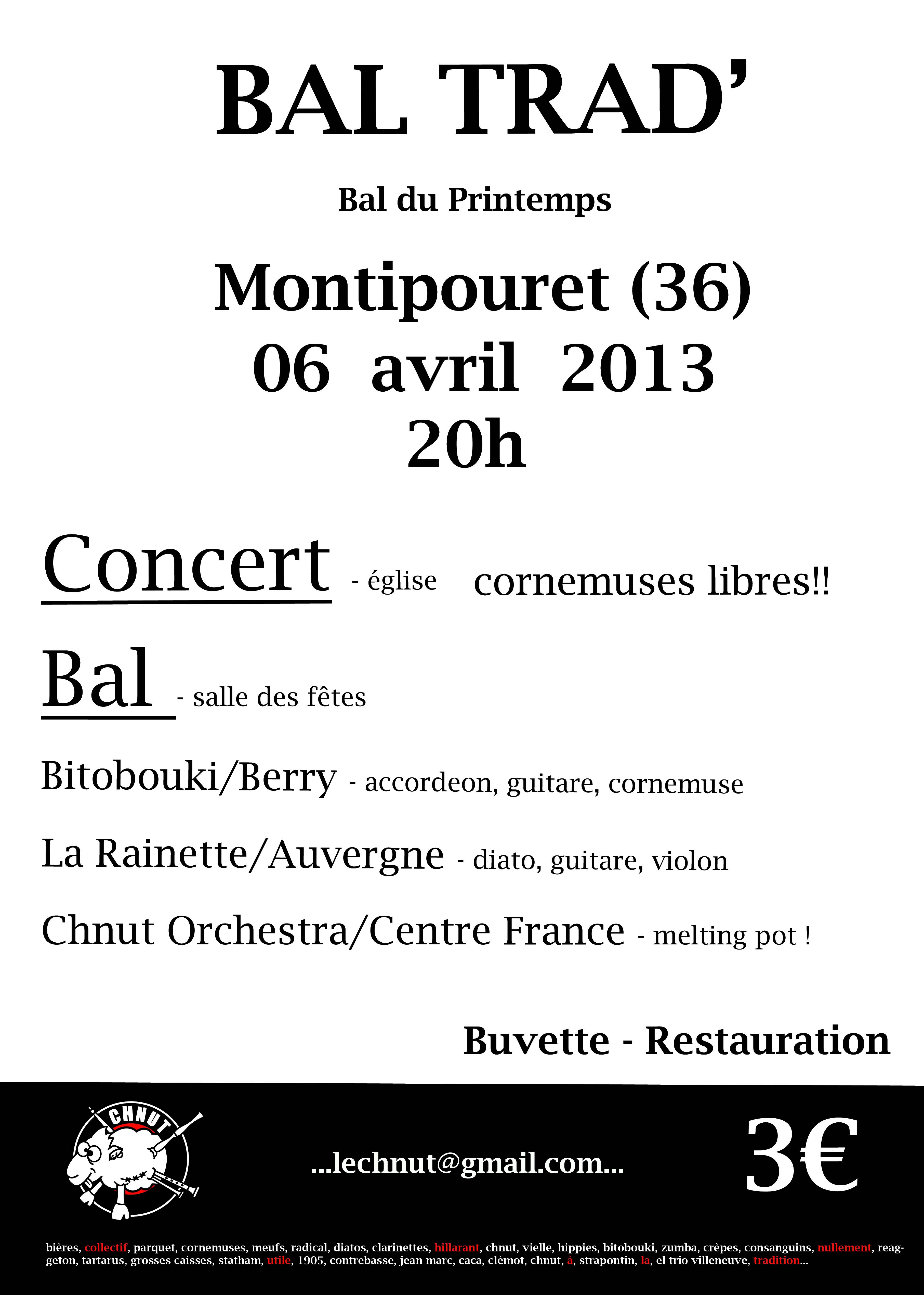 bal printemps 2013